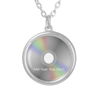 El CD o el DVD personalizó el collar de la música
