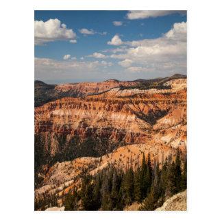 El cedro rompe el monumento nacional, Utah Tarjetas Postales