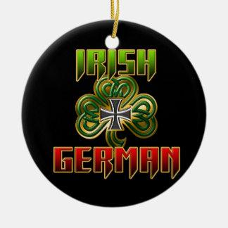 El Celt germánico Adorno Navideño Redondo De Cerámica