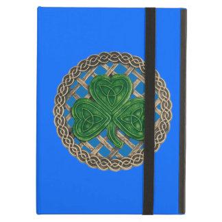 El Celtic azul de encargo del trébol anuda la caja