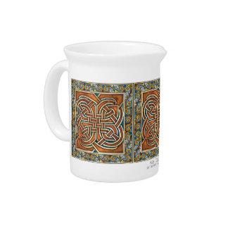El Celtic entrelaza la jarra de los paneles