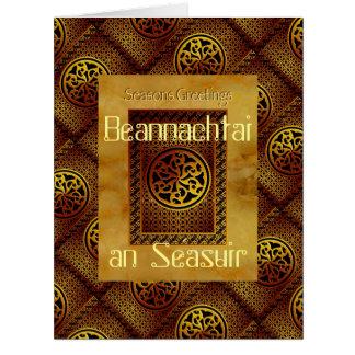 El Celtic sazona la tarjeta de felicitaciones