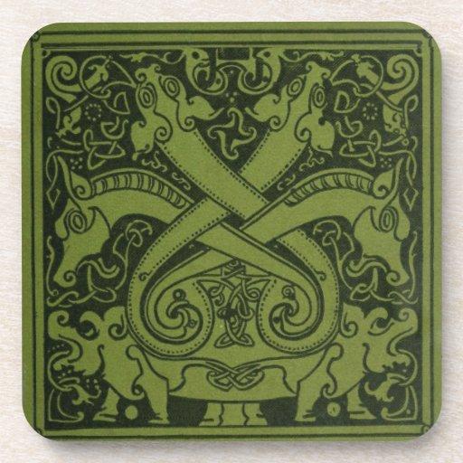 El Celtic seis dirigió el dragón Posavasos De Bebidas