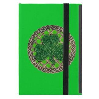 El Celtic verde de encargo del trébol anuda la iPad Mini Carcasas