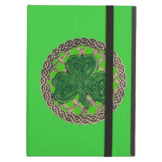 El Celtic verde personalizado del trébol anuda la