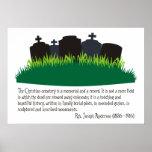El cementerio cristiano poster