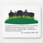 El cementerio cristiano tapetes de ratones