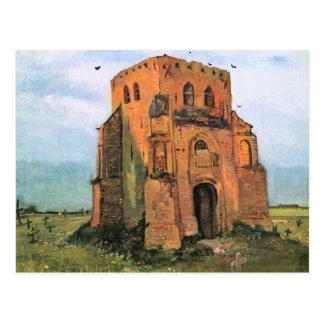 El cementerio viejo en Nuenen de Vincent van Gogh Tarjeta Postal