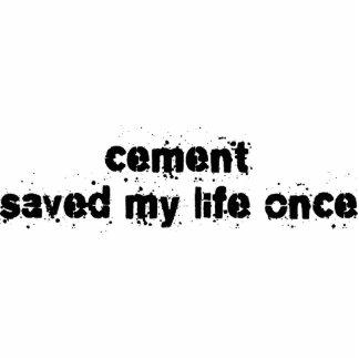 El cemento ahorró mi vida una vez esculturas fotograficas