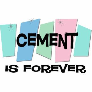 El cemento es Forever Escultura Fotografica