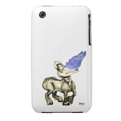 El Centaur resuelve el caso de la mariposa iPhone 3 Case-Mate Cobertura