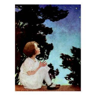 """El """"centelleo, centellea poca estrella"""" tarjeta postal"""
