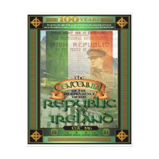 El Centennial. de Irlanda Impresión De Lienzo