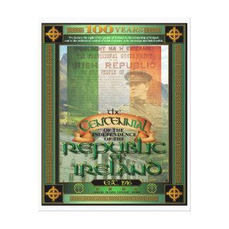 El Centennial. de Irlanda Lona Envuelta Para Galerias