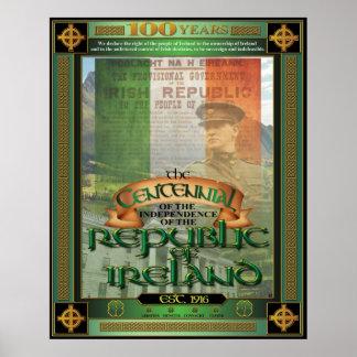 El Centennial. de Irlanda Póster