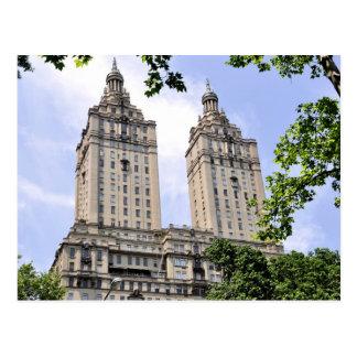 El Central Park de las torres de San Remo del Postales