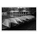 El Central Park del Boathouse Tarjeta De Felicitación