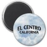 EL Centro California Imán Redondo 5 Cm