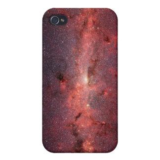El centro de la galaxia de la vía láctea iPhone 4/4S carcasas