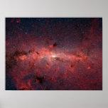 El centro de la galaxia de la vía láctea posters