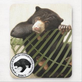 El centro de la protección del oso de Bornean Sun Tapete De Raton