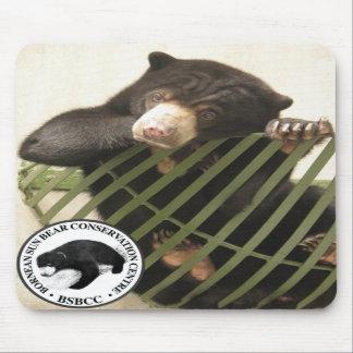 El centro de la protección del oso de Bornean Sun Alfombrilla De Ratón