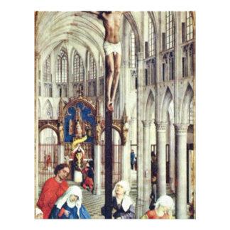 El centro de siete sacramentos: Crucifixión Flyer A Todo Color