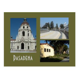 El centro municipal de Pasadena y tiende un puente Postales