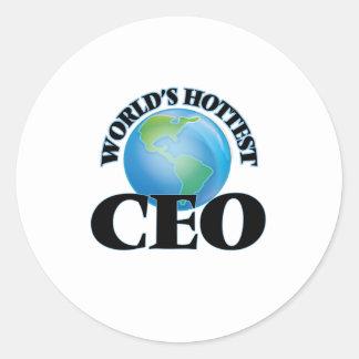 El CEO más caliente del mundo Etiqueta Redonda