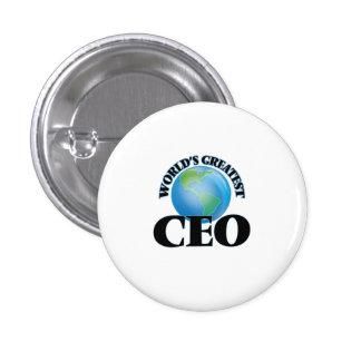 El CEO más grande del mundo Pin Redondo De 1 Pulgada
