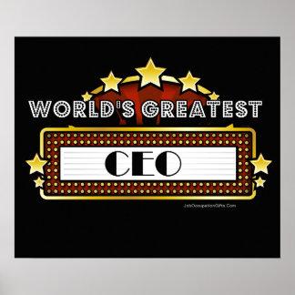 El CEO más grande del mundo Póster