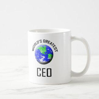 El CEO más grande del mundo Taza De Café