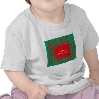 El cepillo de Navidad comprueba la camiseta