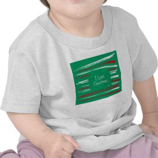 El cepillo de Navidad raya la camiseta infantil
