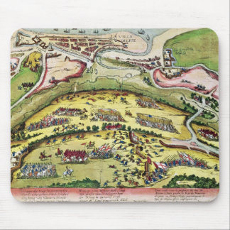 El cerco de Dieppe en 1589 1589-92 Alfombrillas De Raton