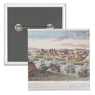 El cerco de Malta, el 12 de junio de 1798 Pin Cuadrado