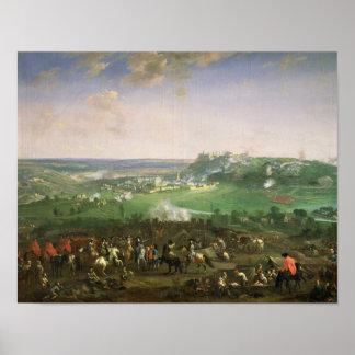 El cerco de Namur, 1659 Póster