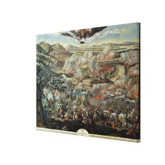 El cerco de Viena de los turcos en 1683 Impresión De Lienzo
