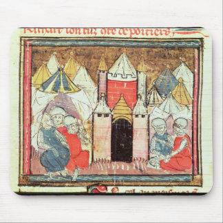 El cerco del Castillo francés-Gaillard Tapetes De Raton