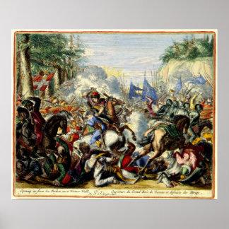 El cerco turco de Viena 1683 Posters