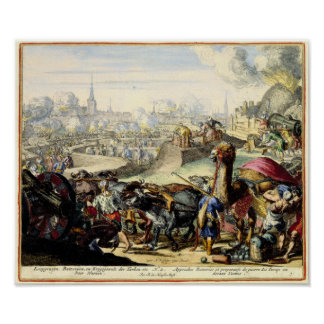El cerco turco de Viena 1683 Póster