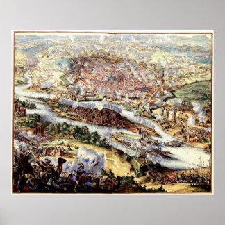 El cerco turco de Viena 1863 Poster