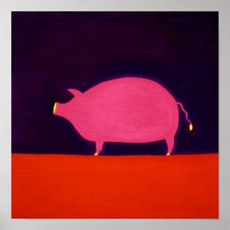 El cerdo 1998 póster
