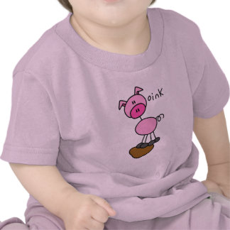 El cerdo dice Oink las camisetas y los regalos
