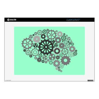 El cerebro adapta el ordenador portátil y la piel  calcomanía para 38,1cm portátil