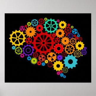 El cerebro adapta el poster póster
