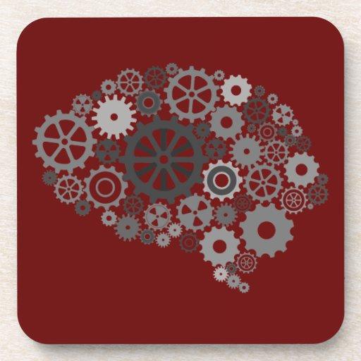 El cerebro adapta el práctico de costa del corcho posavaso