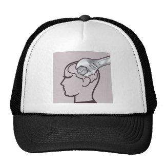 El cerebro de la llave ajustable ajusta gorros bordados