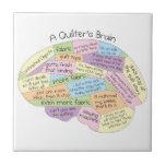 El cerebro de Quilter Azulejos Ceramicos