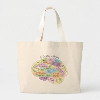El cerebro de Quilter Bolsa Tela Grande